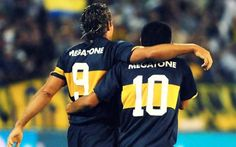 Boca Juniors, Martin Palermo, Juan Román Riquelme