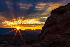 Sunrise - Sunrise Valley Of Fire State Park   Nevada