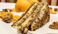 Recept: Čoko-vanilin torta s orasima Torte Recepti, Kolaci I Torte, Hot Dog Recipes, Sweet Recipes, Bakery Recipes, Cooking Recipes, Croation Recipes, Serbian Recipes, Serbian Food