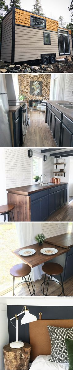 A custom tiny home available for sale in Denver