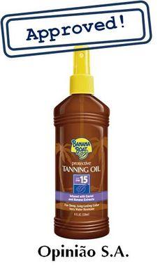 Banana Boat – Protective Tanning Oil SPF 15 Óleo Bronzeador