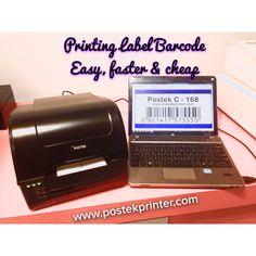 Solusi labelling mudah, cepat dan terjangkau.  Printer barcode postek, untuk kebutuhan cetal label barcode lengkap dengan barcode generator atau software cetak label yang bisa diintegrasikan dengan data barang. Efisien untuk mencetak dalam label barvode dengan jumlah besar sekaligus.  Support & Promo : www.postekprinter.com Distribusi : Jkt : 021-6010197  Sby : 031-031-5952929 Mks : 0411-2116999 #barcode #printerbarcode #labelprinter #barcodeprinter #labelbarcode #ribbonbarcode…