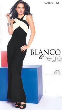 Livia Brito luce Palazzo negro con ivory. ¿Te gusta este look de Livia?