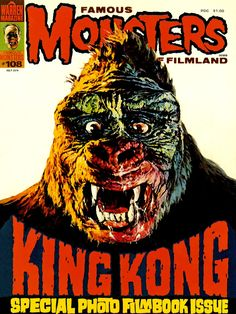 Famous Monsters of Filmland 108 - King Kong
