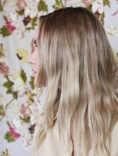 Perfectly blended ombré.
