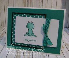 Stampin' Studio, Stampin' Up! Love You Lots, In Color 2016-2018 Emerald Envy