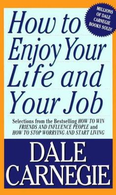 December Book Club - How to Enjoy Your Life and Your Job by Dale Carnegie. (not an affiliate link, endorsement, or sponsorship) Dale Carnegie, Great Books To Read, Good Books, Free Books, Ideas Principales, Book Of Job, How To Influence People, English Book, Enjoy Your Life