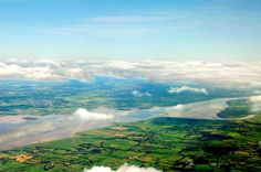 Ireland as you're coming in to Shannon Airport