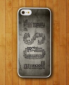 Lost TV Series Quotes Design iPhone Skin Protector for iPhone 4 4S 5 5S 5C ☺. ☺
