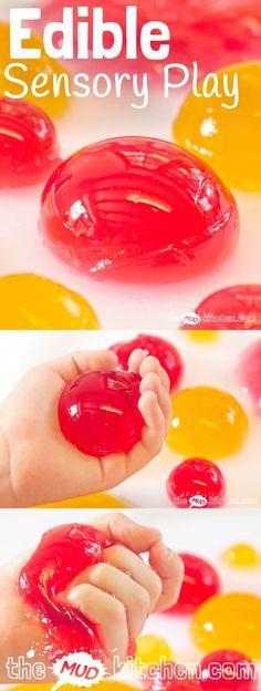Con estas bolas pueden experimentar a través de los sentidos. Las pueden oleer, ver, comer, tocar...