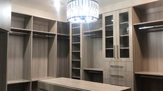 closet layout 621778292283640062 - I designed this custom closet for one ☝️ if my favorite clients who wanted a high-end boutique style closet. I think I nailed it! 🙌 We're still waiting on the stone countertop for the island. Master Closet Design, Walk In Closet Design, Master Bedroom Closet, Master Closet Layout, Walk In Closet Ikea, Custom Closet Design, Bedroom Closets, Wardrobe Room, Wardrobe Design Bedroom