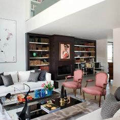 Overlapping Design Styles Shaping Madrid Dream Home.