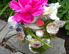 Mad Tea Party Teetering Teacups Centerpiece - Miss Party