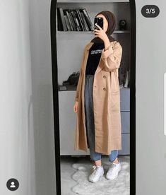 Modest Fashion Hijab, Modern Hijab Fashion, Street Hijab Fashion, Casual Hijab Outfit, Hijab Fashion Inspiration, Islamic Fashion, Hijab Chic, Muslim Fashion, Mode Outfits