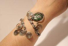 Wire Wrapped Handmade Bracelets   wire wrapped jewelry handmade