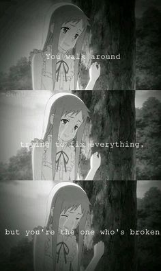 Just watched Anohana today and that is so true