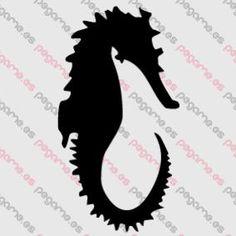 Pegame.es Online Decals Shop  #animal #sea_horse #sea #water #vinyl #sticker #pegatina #vinilo #stencil #decal