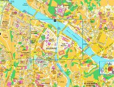 Amiens Map Tourist Attractions places Pinterest 10 top