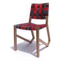 ACHILLES WHITE OAK WEB CHAIR | easy boy, easy boy chair, jen risom chair, modern chair | UncommonGoods