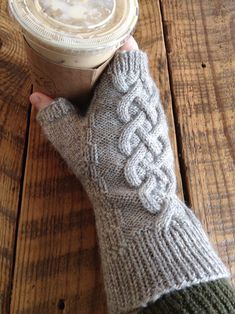 Free until Apr 2018 Knitting Pattern for Alvin Mitts - Cabled fingerless mitts in fingering weight yarn. Designed by Emily Walton Baby Knitting Patterns, Knitting Ideas, Knitting Yarn, Free Knitting, Stitch Patterns, Yarn Projects, Knitting Projects, Crochet Socks, Knit Crochet