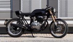 ϟ Hell Kustom ϟ: Honda CB400T 1980 By Cafe Racer Obsession
