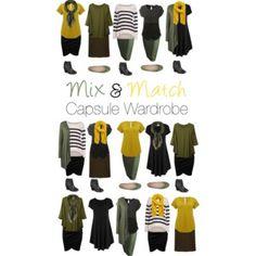 Capsule Wardrobe: Olive and Mustard