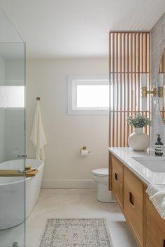 House on the Battlefield Bathroom Renovation — Lauren Bradshaw Design Spa Bathroom Decor, Bathroom Renos, Bathroom Interior Design, Bathroom Renovations, Modern Bathroom, Small Bathroom, Spa Master Bathroom, Bathroom Showers, Bathroom Layout