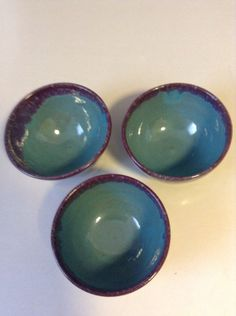 Set of 3 Small Bowls by BarroYagua on Etsy, $40.00