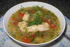 Быстрый и вкусный суп из красной рыбы.