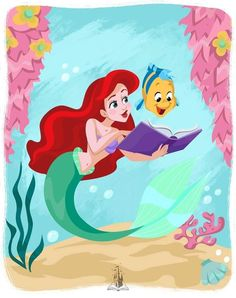 Disney Princess The Little Mermaid Disney Princess Quotes, Disney Princess Ariel, Disney Songs, Disney Music, Arte Disney, Disney Fan Art, Disney Love, Disney Stuff, Disney Little Mermaids