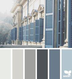 Ideas house exterior colors gray design seeds for 2019 Exterior Paint Colors For House, Paint Colors For Home, Exterior Colors, Paint Colours, Exterior Design, Diy Exterior, Garage Exterior, Rustic Exterior, Exterior Gris