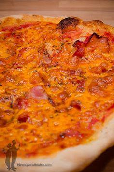 Pizza au bacon et au cheddar | Piratage Culinaire