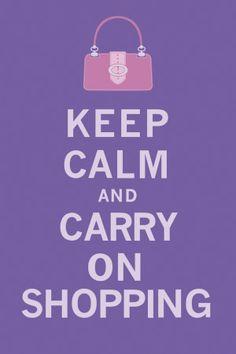 Keep Calm, Shopping