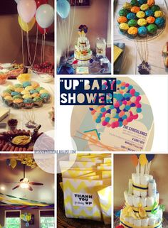 Disney's 'Up' inspired baby shower! designs by nicolina