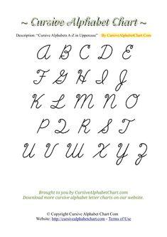 357 Best Cursive Alphabet Images Embroidery Patterns Cross Stitch