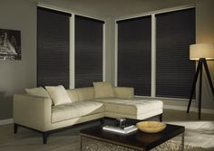 Made to measure Sheer Horizon Blinds For Your Windows | Illumin8 Blinds | Fiona Mink Blinds in Down Closed Position