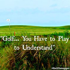 This statement is soooo true. I have friends that think golf is the stupidest sport and is soooo easy! It's not! If they only knew! :)>