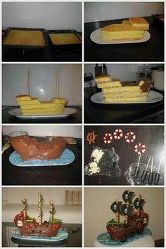 Para que una fiesta de cumpleaños pirata sea genial, inspírate en este fácil tip. #party #pirata #comida