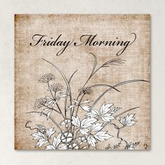 ETSY SHOP BANNERS Friday Morning Vintage