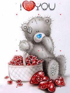 Tatty Teddy sending love this holiday season! Tatty Teddy, Teddy Pictures, Bear Pictures, Cute Pictures, Bear Images, Gif Noel, Blue Nose Friends, Love Bear, Cute Teddy Bears