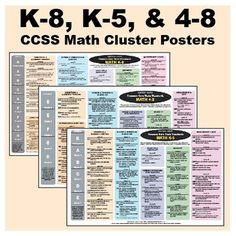 See at-a-glance how to navigate the new Common Core State Standards (CCSS) for primary, intermediate, and middle-school mathematics! This FREE file...
