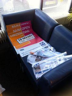 De posters zijn binnen! Druk voorbereiden op de NVM Open Huizen dag 28-3 #langezaal #Denhaag @nvmopenhuis  @nvmleden