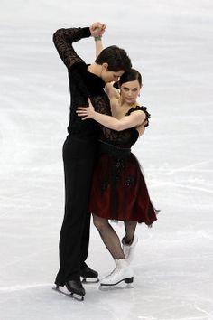 Tessa Virtue and Scott Moir.... LOVVVEEE