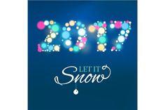 2017 Happy New Year background  @creativework247