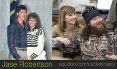Jason Robertson and Missy Robertson