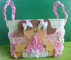♥ Blog Minhas Artes by Simone - Pote de sorvete decorado bebê