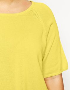 Image 3 ofNew Look Inspire Fine Gauge T-Shirt