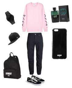 """Untitled #10"" by emmaca-varga on Polyvore featuring MKI Miyuki-Zoku, Icebreaker, J.Crew, Citizen, Givenchy, MELIN, Gucci, men's fashion and menswear"