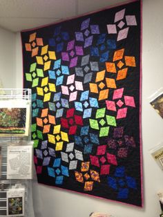 My quilts on pinterest quilt disappearing 9 patch and star quilts
