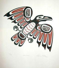 haida-raven by gnuchu